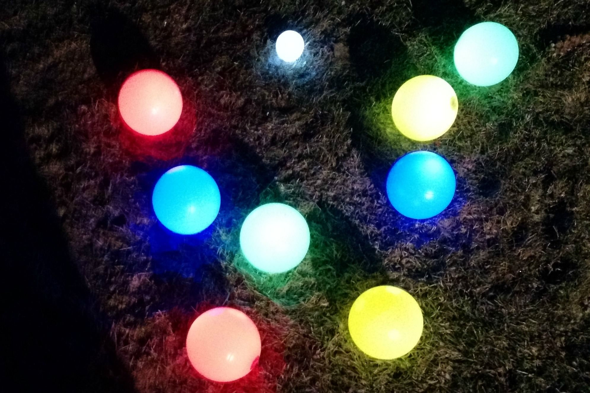 Glow in the Dark Bocce Balls